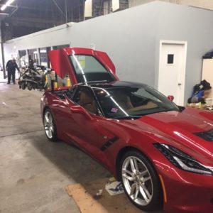 2015 Corvette Angle View