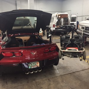 2015 Corvette Rear Lift